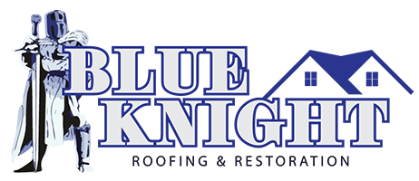Blue Knight Roofing Logo